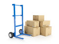 Delivery of possession Royalty Free Stock Photo