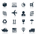 Delivery and transportation icons