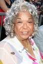 Della Reese, Mark Burnett Photographie stock libre de droits