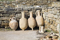 Delos Amphora Stock Photography