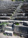 Delphi Amphitheater, Greece Royalty Free Stock Photo