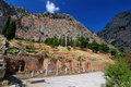 Delphi ancient site, Greece Royalty Free Stock Photography
