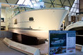 Delphia escape cnr international eurasia boat show february istanbul turkey delphia escape m length m width Stock Images