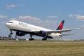 Delta air lines boeing Zdjęcia Stock