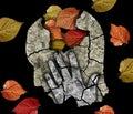 Dementia depression Alzheimer disease. Royalty Free Stock Photo