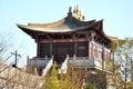 Demi gods en van semi duivels de filmstad is een kunstmatige chinese oude die stad in dali stad yunnan wordt gebouwd werd china it Stock Afbeelding