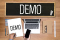 DEMO Demo Preview  Ideal Royalty Free Stock Photo