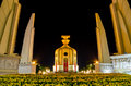 Democracy monument Royalty Free Stock Image