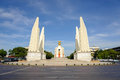 The Democracy Monument Royalty Free Stock Photo