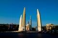 The democracy monument thai anusawari prachathipatai pic of Royalty Free Stock Photo