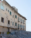 Demolished building Royalty Free Stock Photography