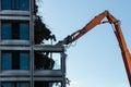 Demolition Of A Destroyed Buil...