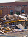 A demolition site Stock Images