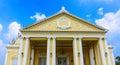 Den thailändska kungliga uppehållet på smällen pa i royal palace Arkivfoto