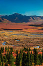 Denali National Park in autumn Royalty Free Stock Photography
