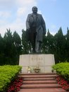 Deng xiaoping statue a of in shenzhen china Royalty Free Stock Photo