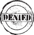 Denied skamp Royalty Free Stock Photography