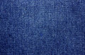 Denim cloth close up of blue Stock Photos