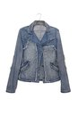 Denim jacket fashionable jeans wear Royalty Free Stock Photography