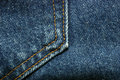 Denim Jeans Pocket Detail Stock Photography