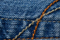 Denim Material Royalty Free Stock Photo