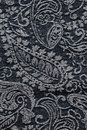Denim Paisley Fabric Texture B...