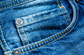 Denim pocket Stock Image