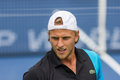 Denis kudla at the winston salem open Royalty Free Stock Images