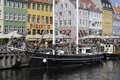 Denmark boat tourism copenhagen at nyhavn canal and gl strand canal july photo by francis dean deanpictures Royalty Free Stock Photo