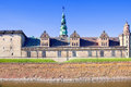 Denmark hamlet castle kronborg ancient on the shore of the strait of oresund in Stock Images