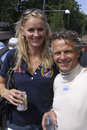 DENMARK_JAN LAMMERS GIRLFRIEND MARISKA HOYINCK Stock Photo