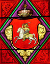 Denmark, stained-glass window Royalty Free Stock Image
