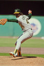 Dennis Eckersley Oakland A's Royalty Free Stock Photo