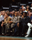 Dennis Johnson and M. L. Carr, Boston Celtics Royalty Free Stock Photo