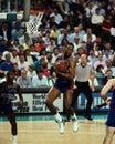 Dennis Rodman Detroit Pistons Stock Photo