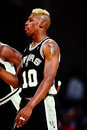 Dennis Rodman, San Antonio Spurs Royalty Free Stock Photo