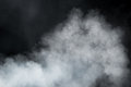 Dense smoke background Royalty Free Stock Photo
