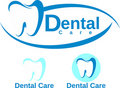 Dental care design Royalty Free Stock Image