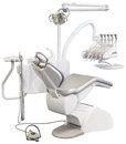 Dental Chair Cutout Royalty Free Stock Photo