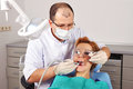Dental checkup woman image of Stock Photography