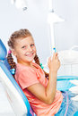 At the dental clinic Royalty Free Stock Images