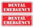 Dental Emergency Stamp