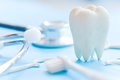 Dental hygiene background Royalty Free Stock Photo