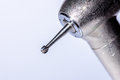 Dental steel round bur. Royalty Free Stock Photo