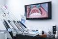 Dental treatment tools Royalty Free Stock Photo