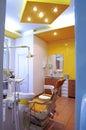 Dentist cabinet Royalty Free Stock Photo