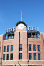 Denver baseball stadium the front of coors field where the colorado rockies play major league in colorado Royalty Free Stock Photo