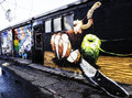 Denver, Colorado Grafitti Royalty Free Stock Photo