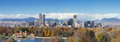 Denver Panorama Royalty Free Stock Photo