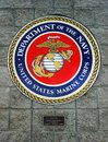 Department Of The Navy, United States Marine Corps, Emblem Royalty Free Stock Photo